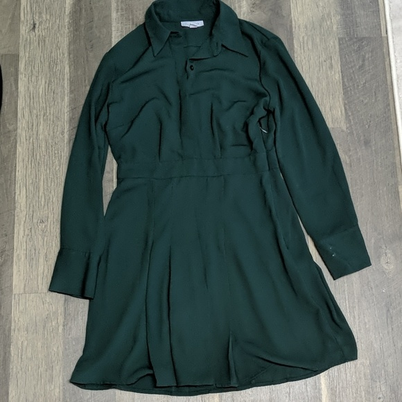 how to orders big selection of 2019 choose official TOPSHOP PLEATED MINI shirt dress